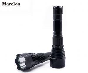 China Tactical Torch LED Rechargeable Flashlight 18650 Battery With Aluminum Alloy Material on sale
