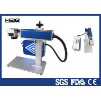 Easy Maintenance Fiber Laser Marking Machine For LED Lamp Cup CE Certificated