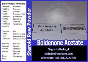 China Hormone Steroid Powder Boldenone Acetate / Boldenone Ace CAS 2363-59-9 on sale