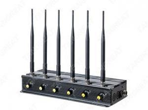 China Signal jammer   6 Bands Cellphone WiFi Handbag Jammer, indoor RF jammers on sale