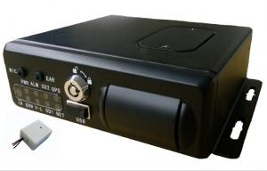 China Car / truck / bus H.264 3G live video 4CH SD Card Mobile Vehicle DVR with GPS WIFI on sale