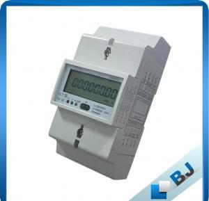 China Digital DIN Rail Energy Meter, Three Phase KWH Meter on sale