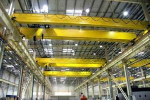 China 20 T 22m 12m Double Girder Overhead Cranes Compact Design And Optimal Space Utilization on sale
