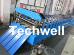 Metal Roofing Sheet Cold Roll Forming Machine with Hydraulic Post Cutting
