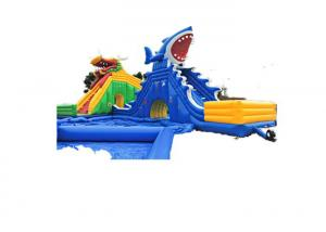China European Style Kids Inflatable Jumping Castle High Durability Good UV Resistance on sale