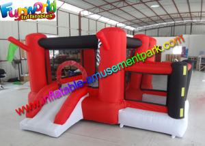 China Customized Race Inflatable Jumping House , Mini Bouncing Castle For Kids on sale