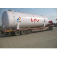 100CBM LPG Storage Tanks 50 Tons LPG Cooking Gas Tank ISO / ASME Approved