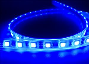 China 14.4W 60 leds RGB LED Strip Lights , 12V / 24V / 12v Waterproof LED Light Strips on sale