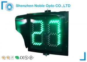 red green yellow 2 digit 400mm traffic light countdown timer for