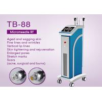 Beauty Salon Fractional RF Microneedle Machine For Wrinkle Removal / Skin Tightening