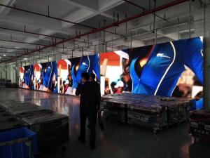China P3.91 Indoor Stage Rental Led Display Hanging Curved Flexible Video Wall Screen on sale