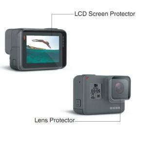 China Acessórios do herói 5 de Gopro da película protetora do protetor + do painel LCD da lente, jogo da câmera do esporte on sale