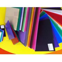 China Recyclable Durable Impact Resistance Corrugated Plastic Sheets PP Flute Board on sale