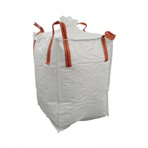 China 1 Ton Jumbo Bulk Bags 1000 KGS Loading Weight 100% Virgin Polypropylene Materials on sale