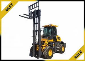 China Offroad 2.5 T Counterbalance Forklift Truck Diesel Engine Powered 12v Battery on sale