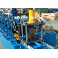 Pallet Storage Rack Upright Shelf Profile Roll Forming Machine For Supermarket