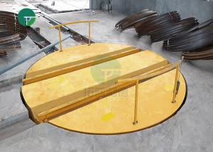 China The most hot sale 10t motorized turntable electrical rail for energy industry on sale