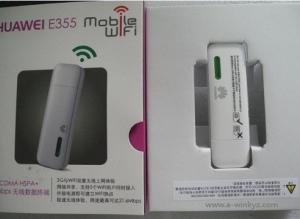 China E355 UMTS / HSPA+ 21.6mbps 3g huawei wifi modem on sale