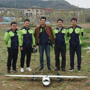 China Land Mapping Hybrid VTOL Commercial UAV Drone for Sale on sale