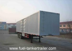 China 40ton - 50ton Van semi trailer , cargo box Semi trailer with FUWA 13Tons 3 axle on sale