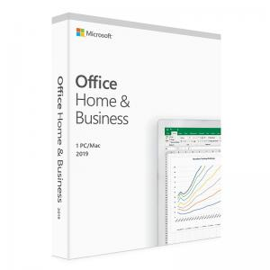 Quality Computer Software Office 2019 Home And Business Retail Box PC / MAC Office 2019 for sale