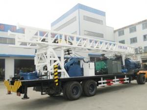 China BZT600 Drill Rig Truck With 90kw Electric Motor 600m Depth 500mm Diameter on sale