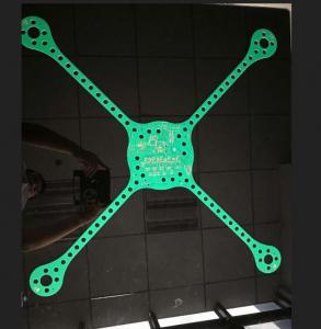 China Oversized, UAV PCB FR-4 902*902mm Rigid Flexible Printed Circuit Board , Large Circuit Board Industrial Drone on sale