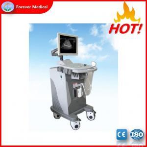 China Hot Medical Supply Hospital Trolley Color Doppler Ultrasound Machines FDA (YJ-U370T) on sale