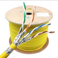 China 22AWG FTP LSZH PVC Jacket 305m CAT8 LAN Cable , Cat 8 Ethernet Cable on sale