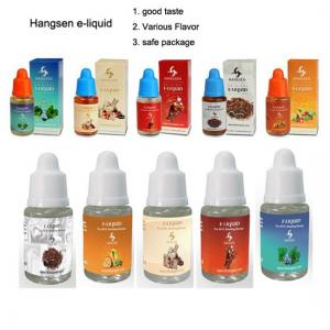 China Good taste hangsen e juice e liquid refilled for electronic cigarette Various flavors on sale