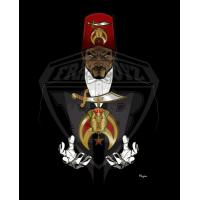 China professional Vector art Shriners Photo for Digital Embroiderers,Web Designers on sale