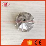 TF035 13T 49377-00018 38.35/51.00mm 6+6 blades turbo billet/milling/aluminum 2618 compressor wheel for 49135-05671