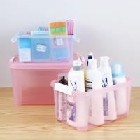 China 5L 15L Yards Clear Car Plastic Organizer Box With Handle on sale