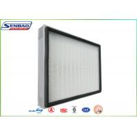 H13 H14 Mini Pleat Panel Hepa Air Filters For Central Air Conditioning