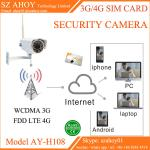 3G 4G sim card ip cctv security camera