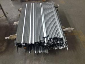 China Stainless Steel Color Anodized Aluminium Extrusion Profiles For TV Frame on sale
