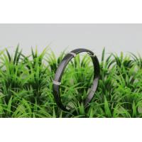 China Jewellery Ceramic 925 Sterling Silver Bangle With White Stone , Silver Bracelet For Women CSB0250 on sale