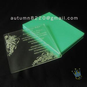 China fashional sample invitation letter on sale