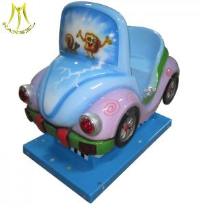 China Hansel hot selling video game machine coin operated kids ride on car for sale on sale