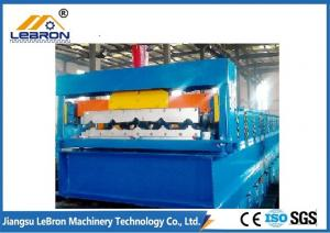 China Full Automation Corrugated Sheet Roll Forming Machine 5.5kW With 13 Satations on sale