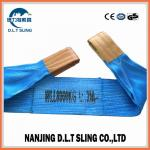 Polyester flat webbing sling ,  WLL 8T ,   safety factor 7:1  , According to EN11492-1 Standard,  CE,G