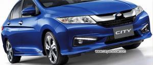 China HONDA City 2014-2015 DRL LED Daytime Running Lights Car headlight parts Fog lamp cover LED-476HD on sale
