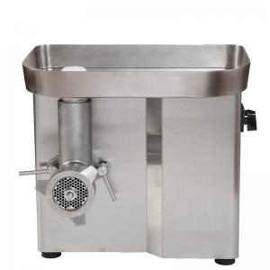China Small Electric Ground Meat Chopper Machine Stainless Steel Body 550W 150KG/H on sale
