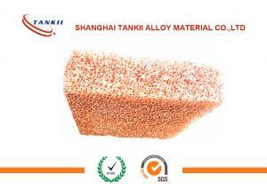 China 16*500*500Mm Pure Copper Sheet , Cu Copper Matel Foam GB / ASTM Standard on sale