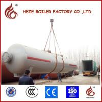 China Silver Color 12mm thickness carbon steel plate 30m3 LPG Tank Made in China on sale