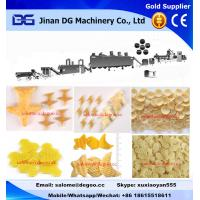 Automatic wheat flour based 2d 3d snack pellets/papad fryum extruding machinery production plant