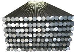 China Large Diameter Alloy Aluminium Round Bar , Solid Aluminum Rod Silvery on sale