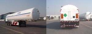 China Cryogenic Liquid Lorry Tanker for Liquid Nitrogen SDY9403GDYN on sale