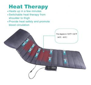 China Safety Comfortable Full Body Heating Pad Massagers Switchable Heat Therapy on sale