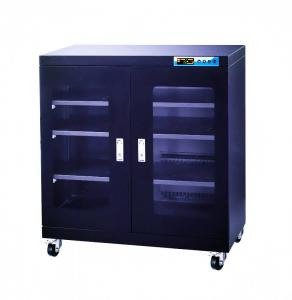 China 450W Black Auto Desiccant Dry Box Cabinet For SMD Packages Moisture Sensitive on sale